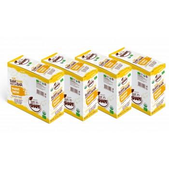 Organic Food - Vegan Raw Bars - Gluten Free - NON GMO - 48 Bars, 4 Boxes - Pure Organic Bars Peanut Butter